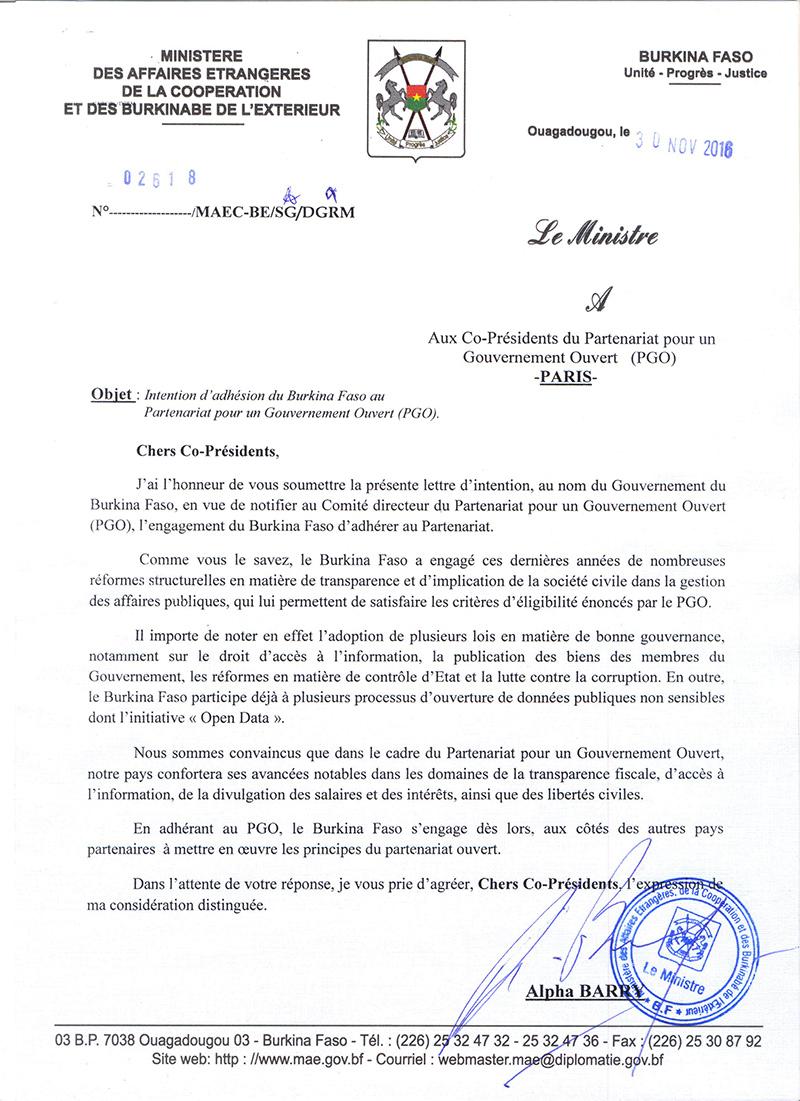 état directive ifu