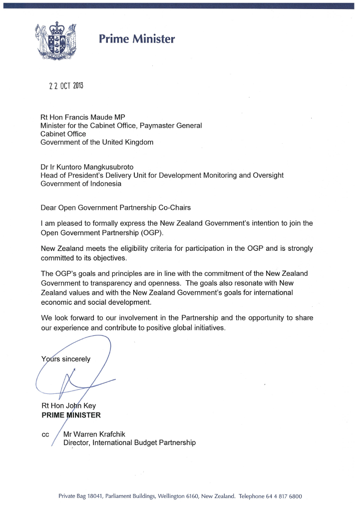 Superior OGP Newsletters Idea Partnership Letter Of Intent