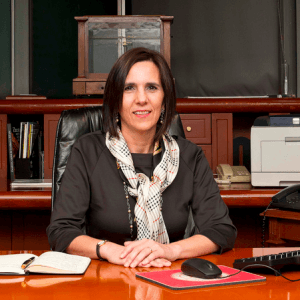 Portrait of Dra. Lourdes Melgar Palacios