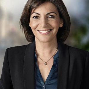 Portrait of Anne Hidalgo