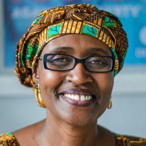 Portrait of Winnie Byanyima