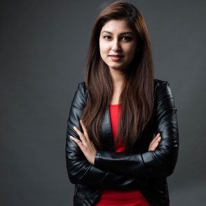 Portrait of Madeeha Raza