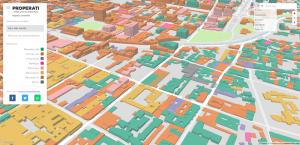 Properati map Bogota