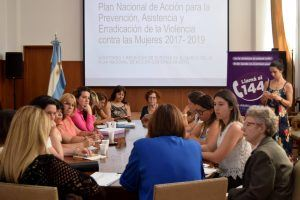 Compromiso de Argentina para erradicar la violencia contra las mujeres AP 2017-2019