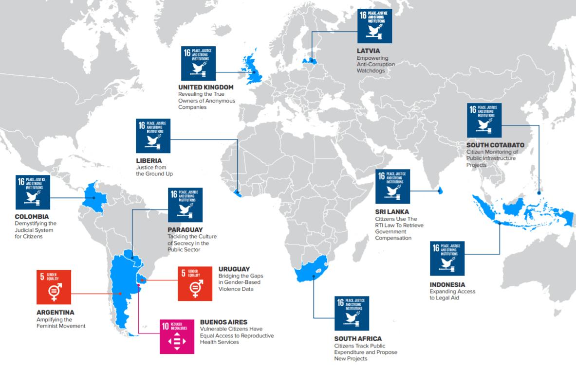 Implementando SDG16 +
