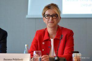 Ministarka Suzana Pribilovic