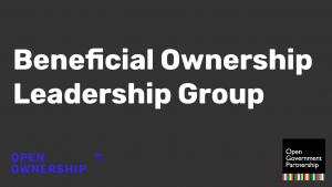 Miniatura del grupo de liderazgo de beneficiarios reales