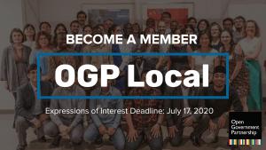 OGP Local EOI for social