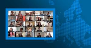 Capture d'écran + Carte Webinaire Europe