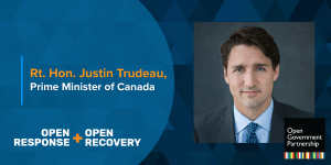 Justin Trudeau UNGA Quote Card
