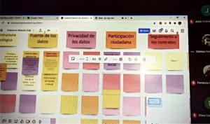 Session virtuelle de co-création colombienne