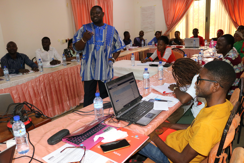 Taller de empoderamiento juvenil en Burkina Faso, marzo de 2020