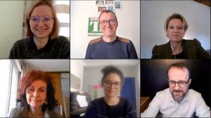 Capture d'écran - Groupe de travail sur les algorithmes français