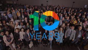 10 cours sur 10 ans